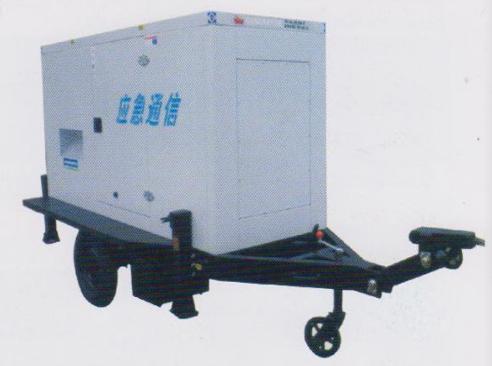 低噪音拖车式发电机
